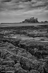 Northumbria - June 2014_4.jpg (r_lizzimore) Tags: coastal sea blackwhite seascape bamburghcastle coast northumbria rocks
