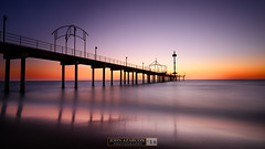 Brighton Jetty (jrazarcon) Tags: brighton southaustralia australia au nikond810 afs nikkor 20mm f18g ed john azarcon jrazarcon photography sunset outdoor ocean sea rocks landscape jetty longexposure leefilters sand springs adelaide benro tripod clmentvannier water windy cold