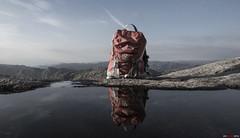 Enjoy your hike.... (bent inge) Tags: norway norwegianmountain september 2016 nornna bentingeask fjellhug gjesdal rogaland hiking