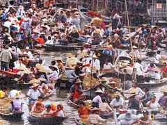 Laos Floating Market (pefkosmad) Tags: jigsaw puzzle leisure hobby pastime 1000pieces complete