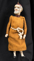 Monk doll (Madison Historical Society) Tags: madisonhistoricalsociety madisonhistory mhs madison connecticut ct conn country usa newengland nikon nikond600 d600 bobgundersen antiques old historical history museum doll toy allisbushnellhouse abhouse route1 bostonpostroad interesting image inside indoor interior picture photo shot scene flickr