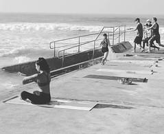 Training. Bondi Beach, Sydney, Australia. Black and white photography #training #bondibeach #bondi #photography #blackandwhitephotography #mediamanint #mediaman (mediamanint) Tags: instagramapp square squareformat iphoneography uploaded:by=instagram moon