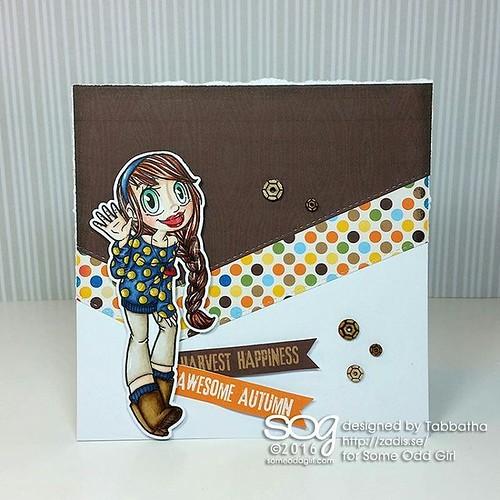 A Wave Mae of Some Odd Girl Inspiration #SomeOddGirl #digitalstamps #cardmaking