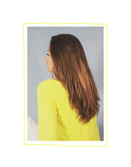 Yellow days 2 (MitikaFe) Tags: yellow girl longhair brunette skyblue fashion photography colors summer