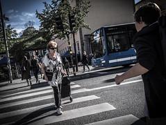Crossing (Henka69) Tags: street streetphoto streetcolour stockholm crossing candid