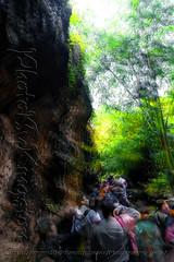 DSCF7162 (kingston Tam) Tags: waterfall river rapids sedimentaryrock stone ancientcity guizhou wetlandpark park canyon landscape naturallandscape mountain scenery streetscape oldfashioned streetphotography castle hawkers peddler fujifilmxt1