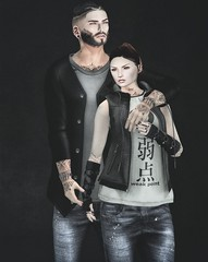 Keep me close to you (AA Style ★ Hipster Style ★ AR2 Style) Tags: chronokit etham excellence hipsterstyle purpleposes thecrossroadsevent theseasonstory yuth secondlife