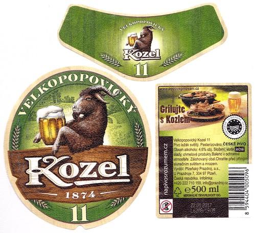 Kozel 11°, Velké Popovice, 2016