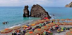 monterosso al mare (Rex Montalban Photography) Tags: rexmontalbanphotography italy cinqueterre monterossoalmare beach stitchedpanorama
