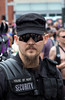 Head of Security and The House of Hunt (Tyke Puppy) Tags: lilianehunt thehouseofhunt leather houseofhunt tykepuppy avantgarde performanceart folsom street fair lukesong fashion couture sanfrancisco ponyplay humananimals humanpony animalroleplay roleplay evilqueen beautifulpeople handsome women men sexandmetal gorgeous redhair mistress dominatrix sf