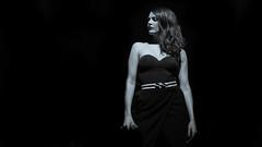 Elodie Frégé / Nouvelle Vague (KristHelheim) Tags: elodiefrégé nouvellevague concert live gig music musique nb bw noiretblanc blackandwhite blackwhite monochrome contrast woman femme