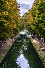Canal Saint Martin (pierrepphotography) Tags: canalsaintmartin automne fall reflections paris france