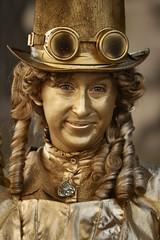 DSC_7953a - The Edinburgh Fringe 2016 - Miss Marigold (henryhulley) Tags: edinburghfringe2016 edinburgh fringefestival edinburghfestivalfringe scotland d80nikon nikonuser nikon dressingup dressup art artist royalmile missmarigold royalmileedinburgh cosplay costumes beautifullady beautiful beautifulmodel pretty dof narrowdof gold golden goldengirl streetperformer performer