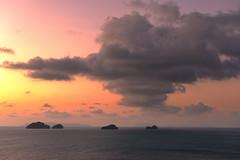 Ko Samui Sunset (Marshall Ward) Tags: sunset thailand kosamui landscape marshallward nikond800 afszoomnikkor2470mmf28ged 2016 asia southeastasia cloudscape clouds seascape ocean