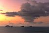 Ko Samui Sunset {Explored October 23rd, 2016} (Marshall Ward) Tags: sunset thailand kosamui landscape marshallward nikond800 afszoomnikkor2470mmf28ged 2016 asia southeastasia cloudscape clouds seascape ocean