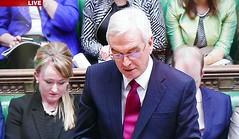 2016 1123 022 (PLX100) Rebecca Long-Bailey, John McDonnell; Autumn Statement (BBC2) (Lucy Melford) Tags: panasoniclx100 parliament houseofcommons autumnstatement chancellor john mcdonnell