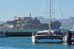 Cap sur Alcatraz ! (arnauddeschamps49) Tags: baie voyage usa sanfranciso travel pier port californie therock alcatraz