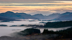 Cloud Inversion over Loch Garry (Damon Finlay) Tags: glengarry loch garry lochgarry scottish highlands scottishhighlands islands highlandsandislands mountains wilderness nikon d750 nikond750 nikkor 80200mm f28 nikkor80200mmf28 landscape scotland cloud inversion cloudinversion earlymorning
