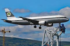 EI-DVM (GH@BHD) Tags: eidvm airbus a320 ei ein aerlingus shamrock logojet specialcolours bhd egac belfastcityairport airliner aircraft aviation