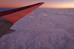 Purple sky (namhdyk) Tags: clouds sky wing inflight windowseat canon canonpowershot canonpowershotg7x
