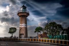 2016-12-05-pattaya-bay-lighthouse-IMG_0001 (Russ Thorne Art Photography) Tags: pattaya thailand lighthouse boats ocean sea scape sun set bay