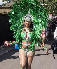 the fanta girl (Mark Rigler -) Tags: portrait beautiful school samba notting hill carnival 2016 london england party street girl dance festival carribean parade music bass candid people brazilian costume ladbroke grove westbourne sony rx10 mark rigler
