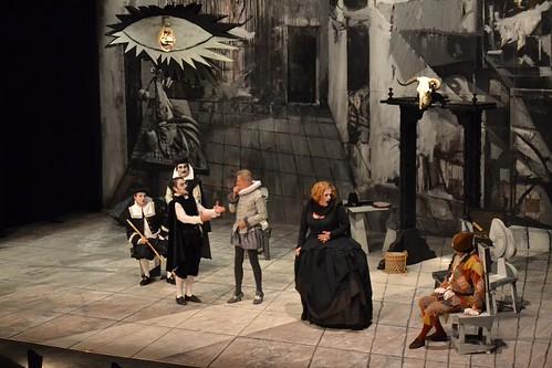 El retablo de las maravillas de Miguel de Cervantes, por Morfeo en el Teatro Tomás y Valiente.