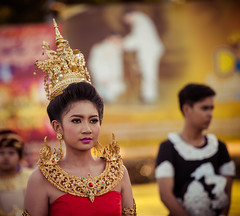 Thailand (Cyrielle Beaubois) Tags: 2015 canoneos5dmarkii cyriellebeaubois thaïlande thailand thai asia southeast travel sukhothai portrait asian people festival loy krathong