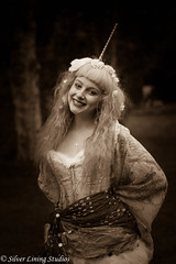 Unifawn (silver lining studios) Tags: unicorn fawn sepia vintage fantasy myth magic mythological fable fairytale fairy