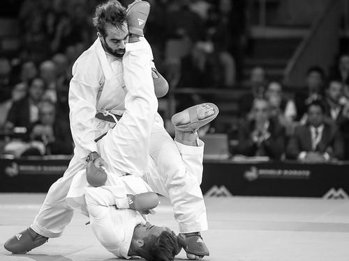 WKF2016 Rafael Aghayev pounding Frenchman Steven Da Costa