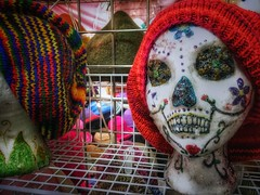 Calavera (Skip Plitt) Tags: eugeneoregon sugarskull iphone6s iphoneography iphonephoto holidaymarket skipplittphotography color colors jaggr 645pro jaggr645promarkiii calavera