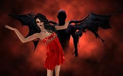 Vengeful Threads - Aphrodite, Bella Muerte, Blinded Seeker (catsrage17) Tags: vengefulthreads analogdog estyle wowskins blackliquid slink akeruka vixndagger