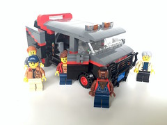 Lego A-Team Van: Double-hinged doors that close flush (mzzingtime) Tags: lego ateam legoideas 80s mrt ideas dimensions legodimensions reddit mocpages twitter