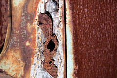 Random Chance (Jeremy Brooks) Tags: california cambria metal rust sanluisobispocounty usa