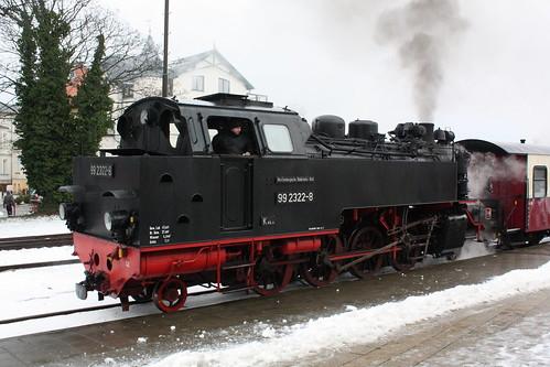 Molli: 99 2322-8 in Bad Doberan