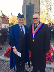 """Pinner - Bro Kam Chana, Senior Deacon, North Harrow Lodge, No. 6557 and Harrow Councillor and E Comp David Pearson PAGDC, Provincial Grand Scribe E • <a style=""""font-size:0.8em;"""" href=""""http://www.flickr.com/photos/60049943@N02/30925775366/"""" target=""""_blank"""">View on Flickr</a>"""