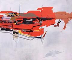 Jim Harris: Untitled. (Jim Harris: Artist.) Tags: art painting cosmos space geometric technology weltraum