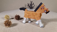 Horse (Busted.Knuckles) Tags: home toy minecraft horse ricohgr dxoopticspro11