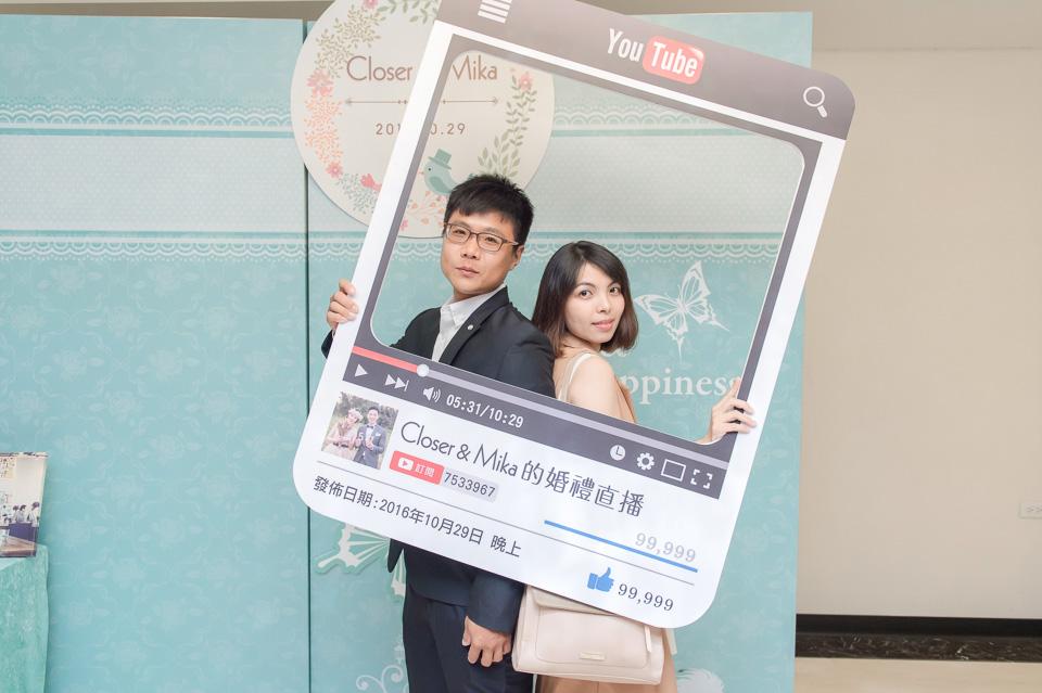 台南婚攝 婚禮紀錄 情定婚宴城堡 C & M 104
