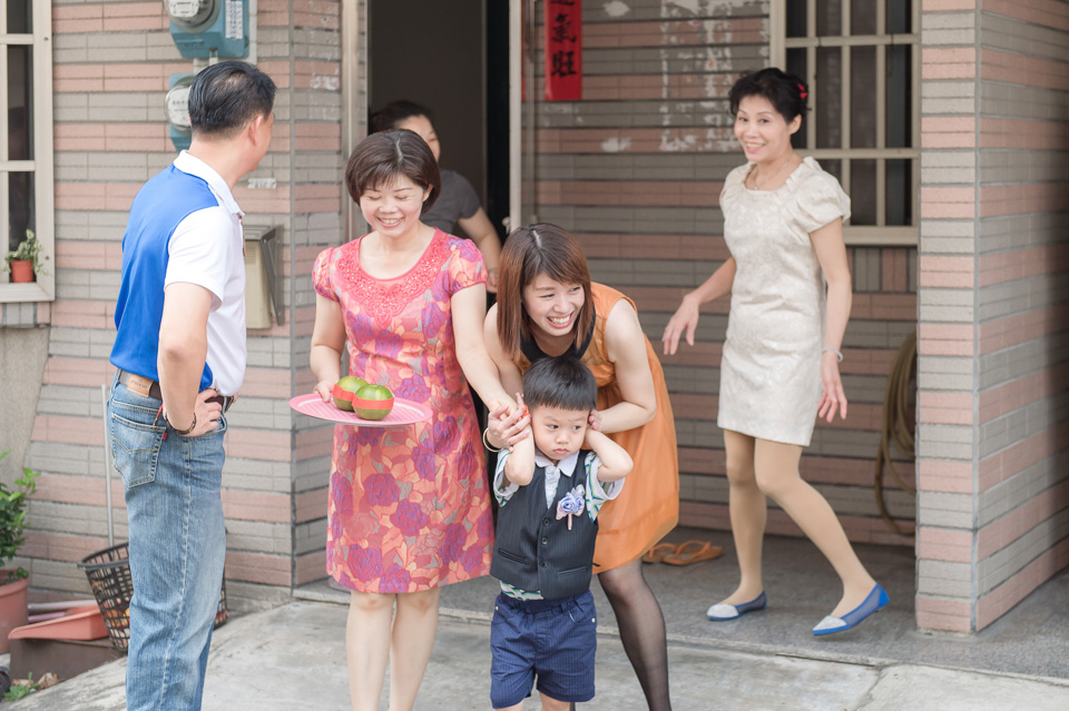台南婚攝 婚禮紀錄 情定婚宴城堡 C & M 016