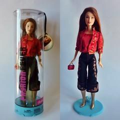 Drew Fashion Fever (Sara.C~) Tags: barbie collector playline label pink black gold doll dolls fashion fever lara drew
