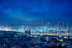 Refinery plant area (Patrick Foto ;)) Tags: business chemical chemistry chimney color construction dark diesel distillation distillery ecology economy energy engineering environment factory fuel gas gasoline industrial industry light manufacturing metal night oil petrochemical petrol petroleum pipe pipeline plant pollution power production refinery sky smoke stack steam storage sunset supply tank technology tower tube laemchabang changwatchonburi thailand th