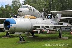 MIG-19PM 0918 CZECH AIR FORCE (shanairpic) Tags: preserved museum military jetfighter zruc mig