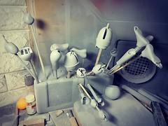 Narae60 first pre-order / second modification surface work completed (bimong11) Tags: narae 58cm new body modification joint supplementation additional parts redeem defect silicon pad correct flaw clay art bimong bjd doll handwork handmade handicraft balljointeddoll surface