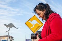 Theresa At Sculptures By The Sea-2 (Quick Shot Photos) Tags: bondi canon cockatooisland sculpturesbythesea sydney tamaramabeach art tamarama newsouthwales australia au