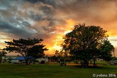 Burning Sky, 12/4/16 (orgazmo) Tags: pentax k1 fa28105mmf3556wr guam landscapes sunsets trees sky skyscapes clouds cloudformations cloudscapes
