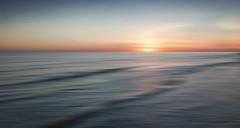Worthing (Bruus UK) Tags: worthing sea seascape sunset water blur motion sky emptyness ripples waves sun horizon coast marine dusk evening light