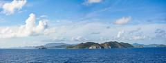 ... Charm of the Caribbean Islands ... (wolli s) Tags: bvi britishvirginisland caribbean flickr karibik sea see blue islands panorama stitch stitched stitching britischejungferninseln vg aida kreuzfahrt diva