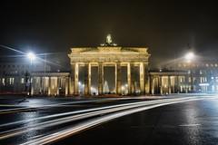 Brandenburg Gate (Tom_Edwards05) Tags: geotagged geo:lat=5251619148 geo:lon=1337642312 berlin germany brandenburg gate light trail long exposure 2016 december brandenburger tor nikon d5200