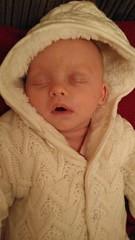 (rachelrowley88) Tags: powernap snooze 9weeks twin sleepy baby sophie
